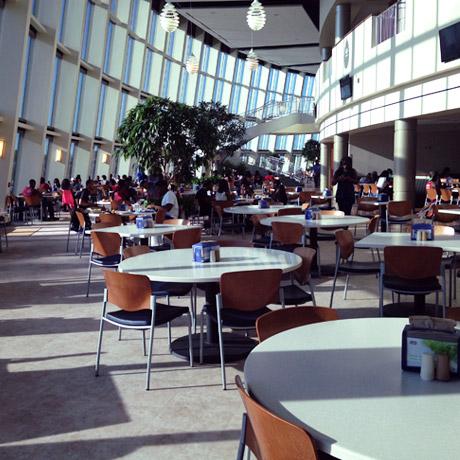 Hampton University Food Court